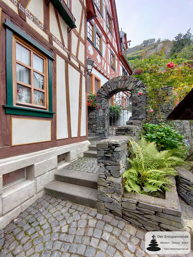 Altes Fachwerkhaus in Bacharach