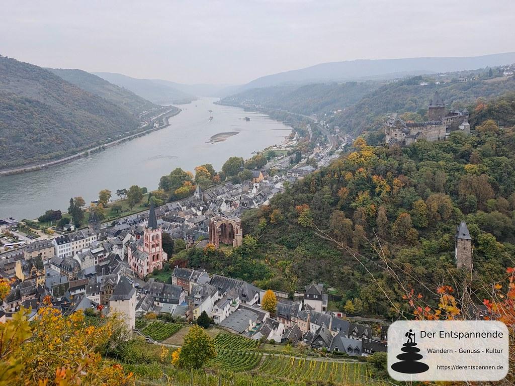 Bacharach, u.a. mit Wernerkapelle und Jugendherberge Burg Stahleck