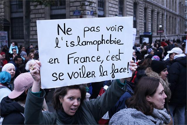 Marche contre l'Islamophobie à Paris IMG191110_007_©2019 | Fichier Flickr 1000x667Px Fichier d'impression 5610x3740Px-300dpi