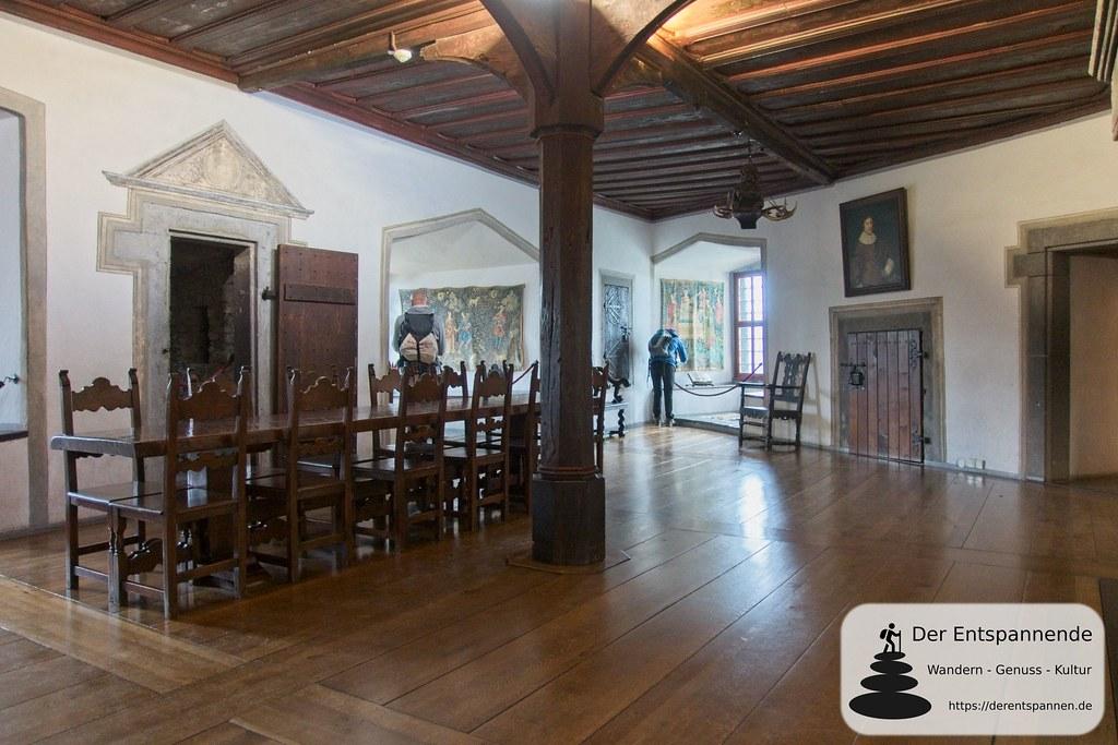 Rittersaal der Marksburg