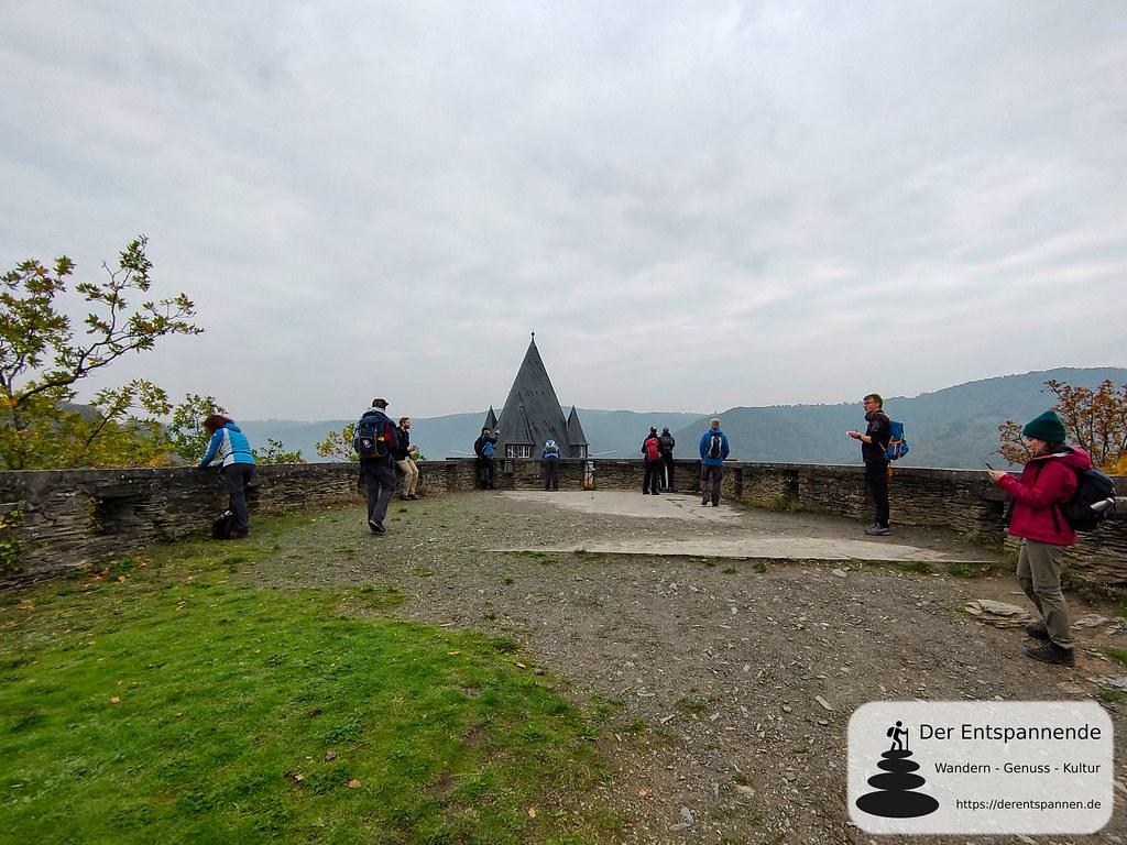 Auf der Burg Stahleck (Jugendherberge)