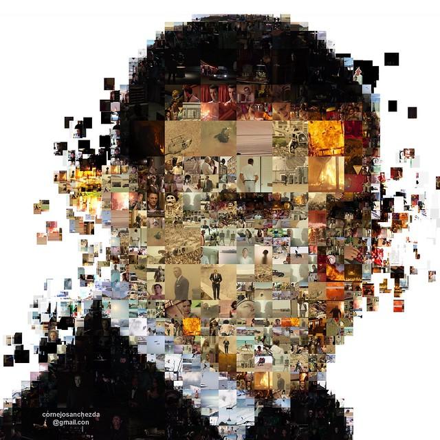 Sean Connery - James Bond 007 Mosaic