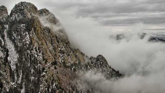 New Mexico, USA:  Sandia Mountains - Photo #3