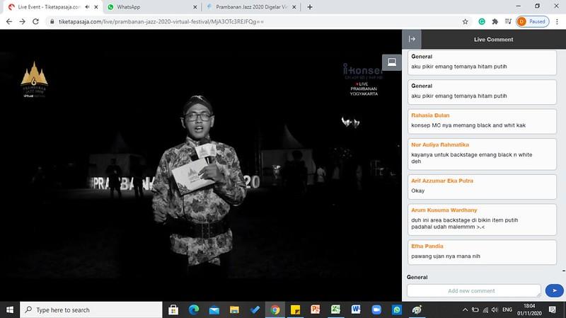Nonton Prambanan Jazz Festival Via tiketapasaja.com