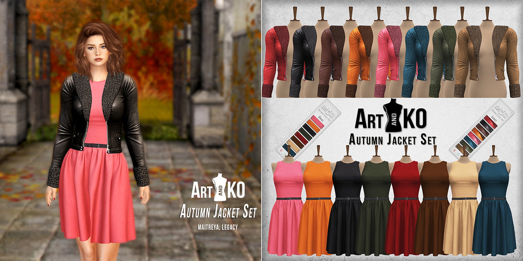 Art&Ko – Autumn Jacket Set – UniK