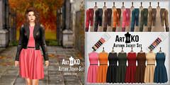 Art&Ko - Autumn Jacket Set - UniK