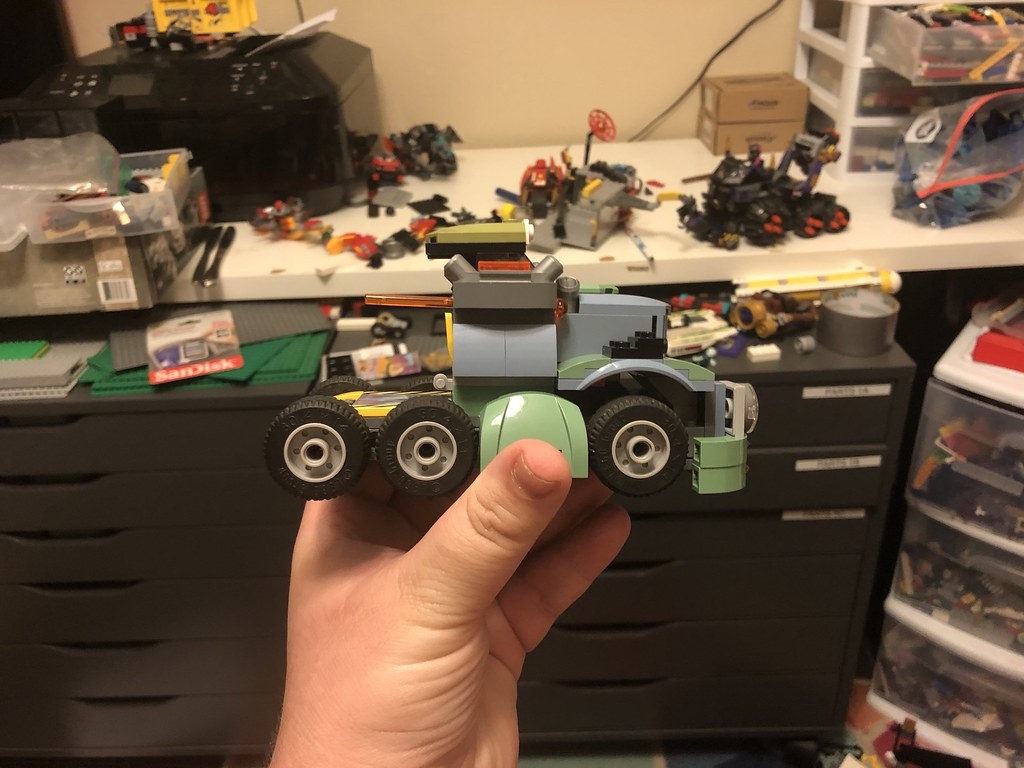 Blast cab proto side