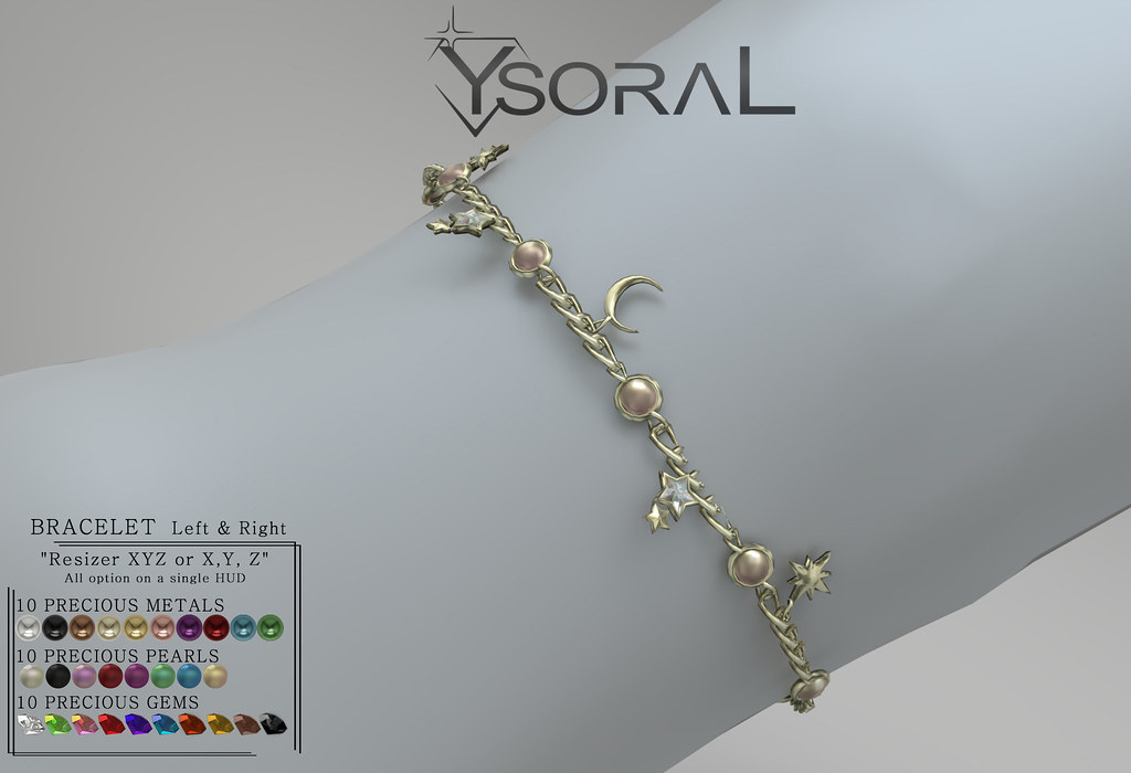 ~~ Ysoral ~~ .: Luxe N4 Bracelet Lucille :.