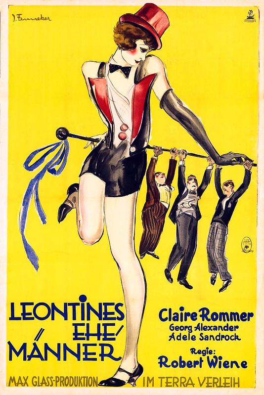 FENNEKER, Josef. Leontines Ehemänner, 1928