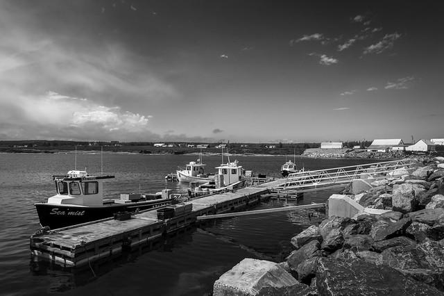 Saint-Georges-de-Malbaie, Fishing Harbour