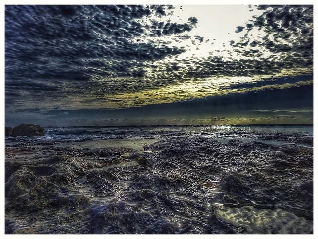 Yucatan/ 2016/ jetlagged beachwalk