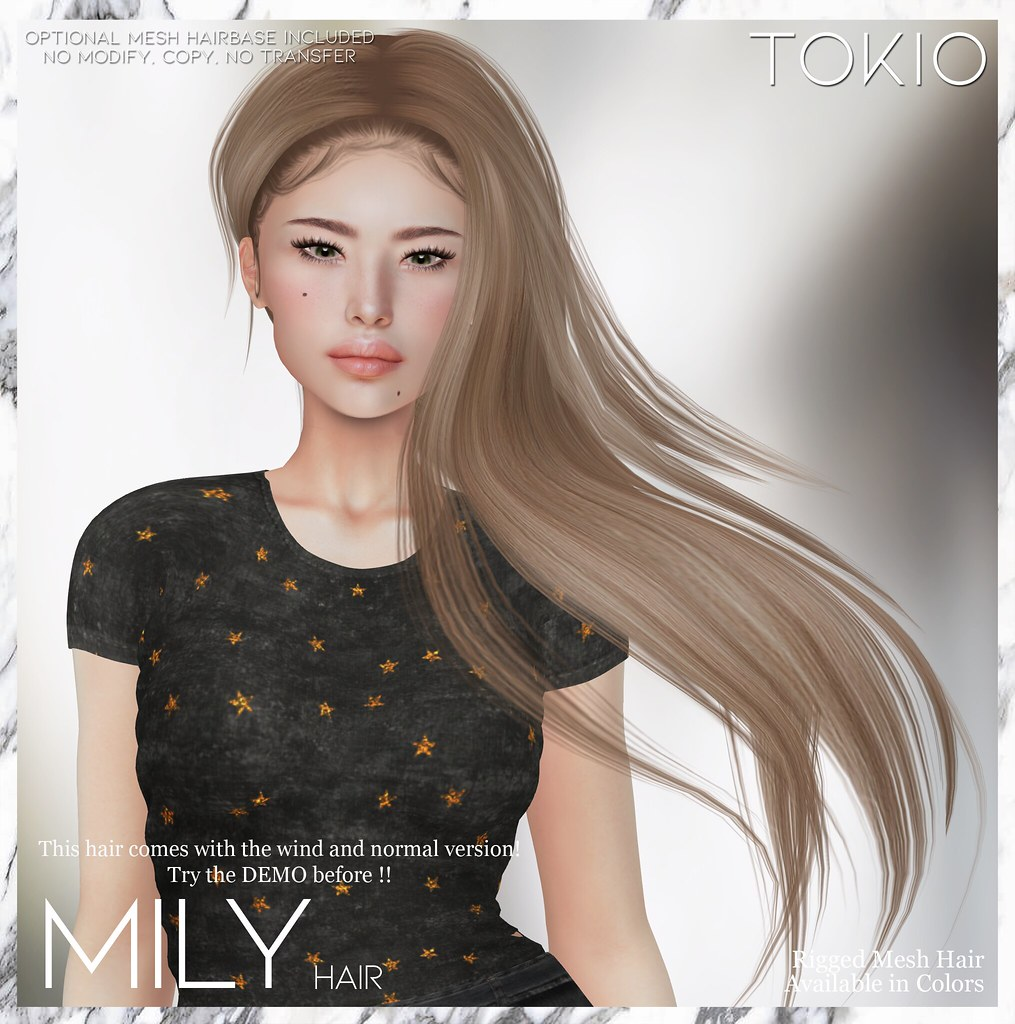 TOKIO Hair - MILY - GALA FAIR 2020 by TRES CHIC