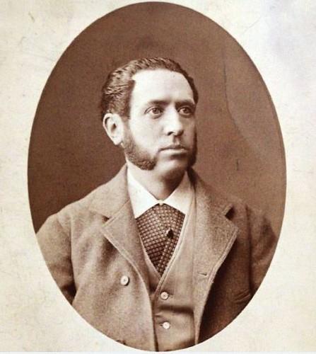 Arturo Mélida (1849-1902), arquitecto restaurador de San Juan de los Reyes y autor del edificio de la Escuela de Artes de Toledo