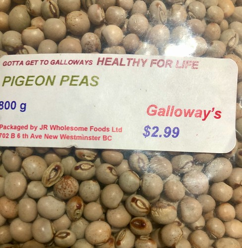 Found Pigeon Peas at Galloways