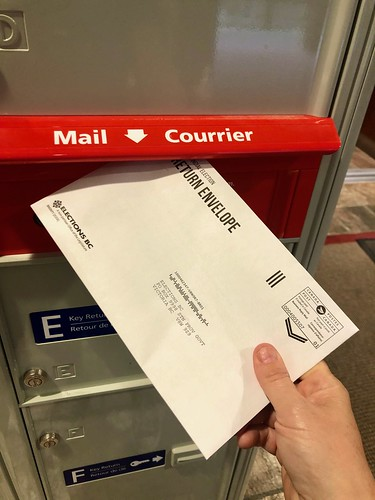 Mail in Ballot for BC Provincial
