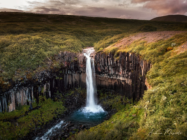 Svartifoss - Skaftafell National Park (Iceland)