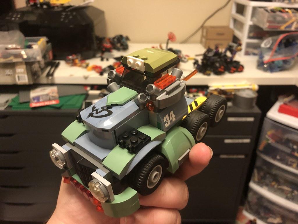 Blast cab proto