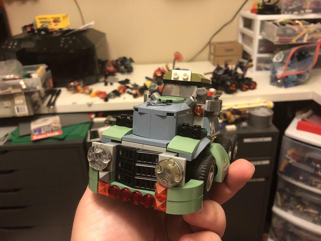 Blast cab proto front