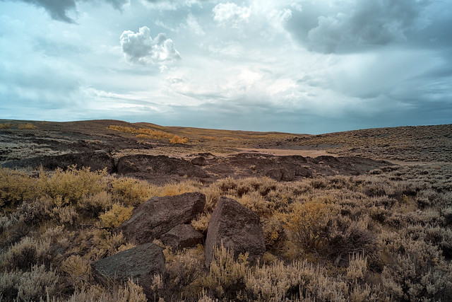 Steens Mountain Barren Landscape