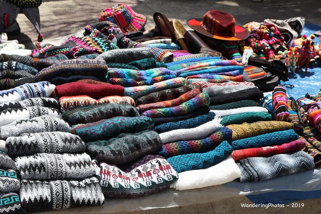 Colourful Knitwear - Sunday Market Tarabuco Chuquisaca Bolivia