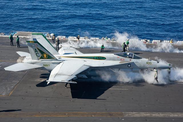 F/A-18E 166650/400 VFA-105 Gunslingers