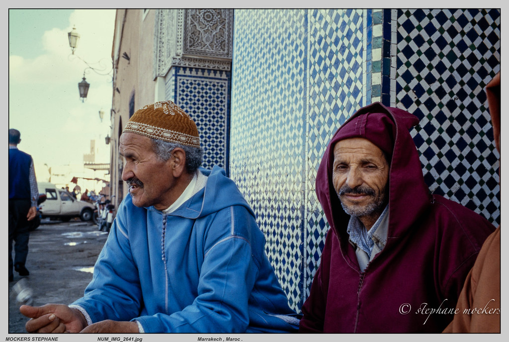 Marrakech , Maroc .