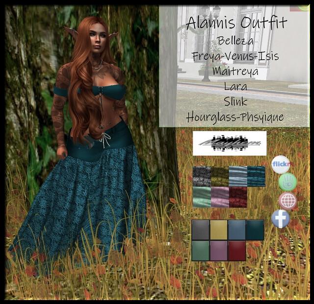Mayhem Alannis Outfit AD