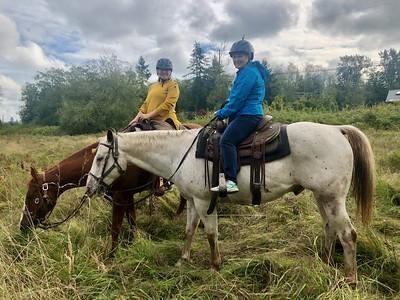 Horseback Riding for Alicia's Birthday