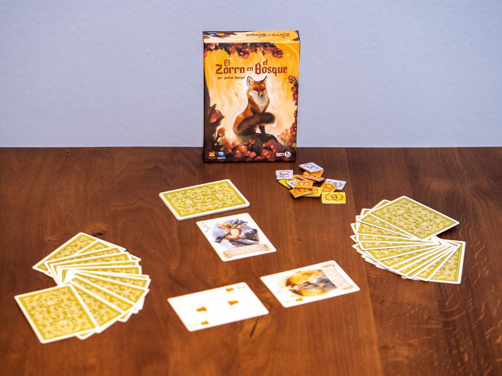 El Zorro en el Bosque boardgame              juego de mesa