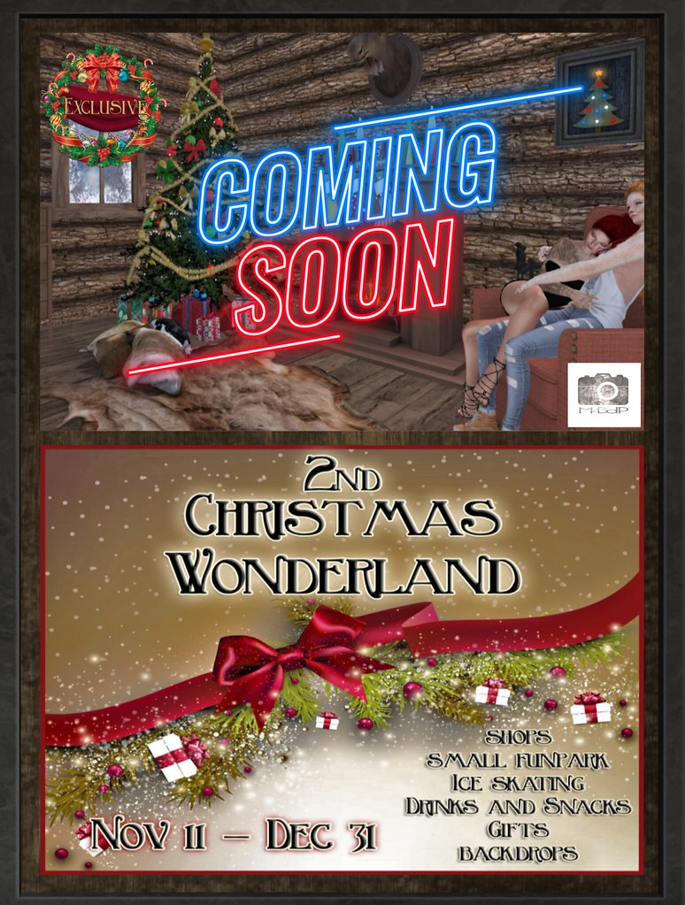 M-BdP coming soon @ 2nd Christmas Wonderland Event
