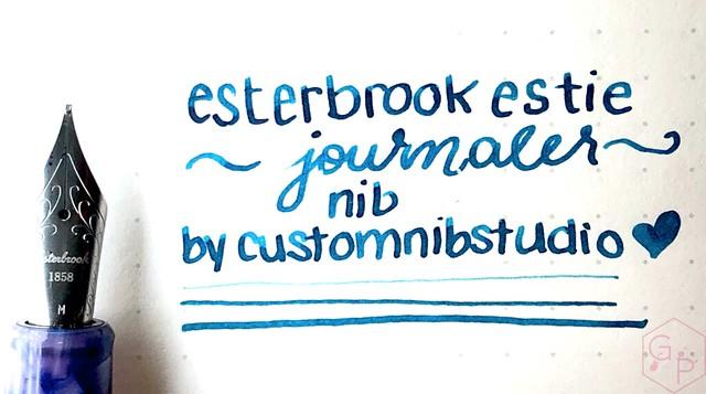 Handwriting with the Esterbrook Estie Journaler Nib
