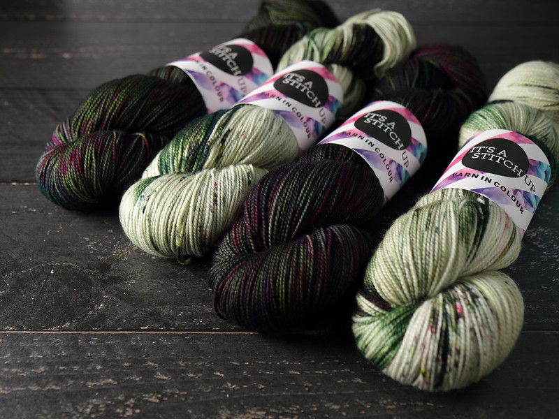 It's a Stitch Up Favourite Sock in 'Space Race' and 'Flourish'
