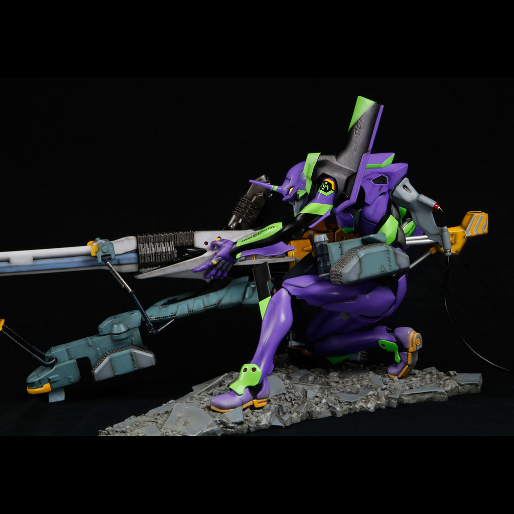 海洋堂「EVANGELION Movie Scene STATUE 新劇場版:序 初號機」大魄力80公分雕像!