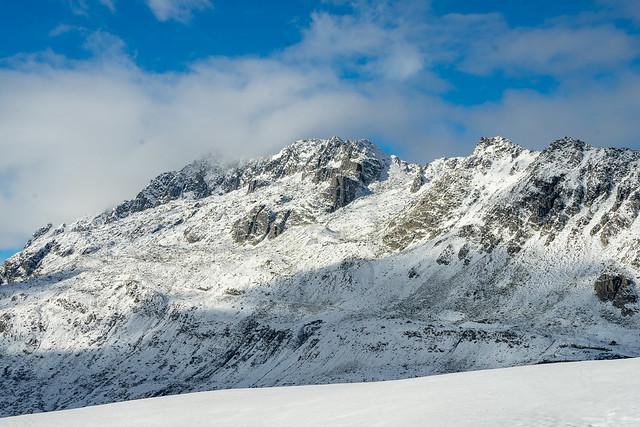 Winter: Rossmettlengrat and Spitzigrat (2/2)