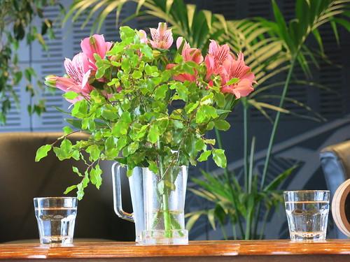 Tūranga flowers and greenery