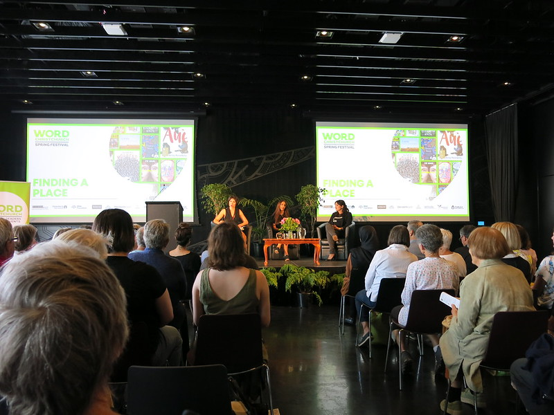 Finding a place - Donna Miles-Mojab, Ghazaleh Golbakhsh, and Golriz Ghahraman