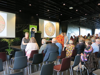WORD Trust chair Vicki Blyth at reception for Ko Aotearoa Tātou | We are New Zealand | by Christchurch City Libraries