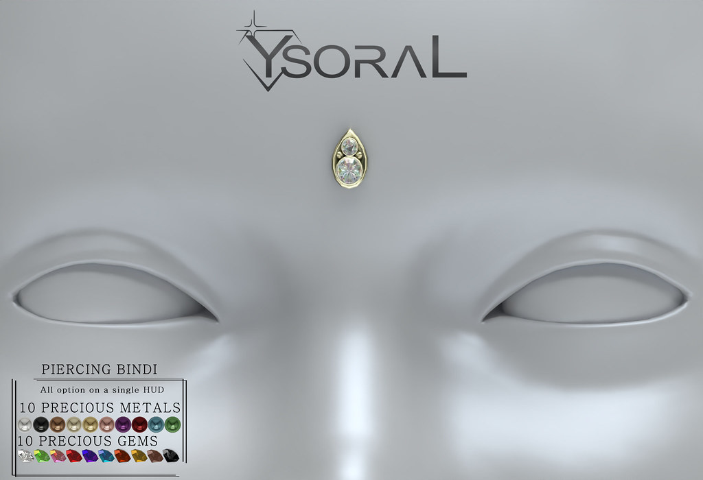 ~~ Ysoral ~~ .:Luxe N1 Piercing Bindi Joy:.