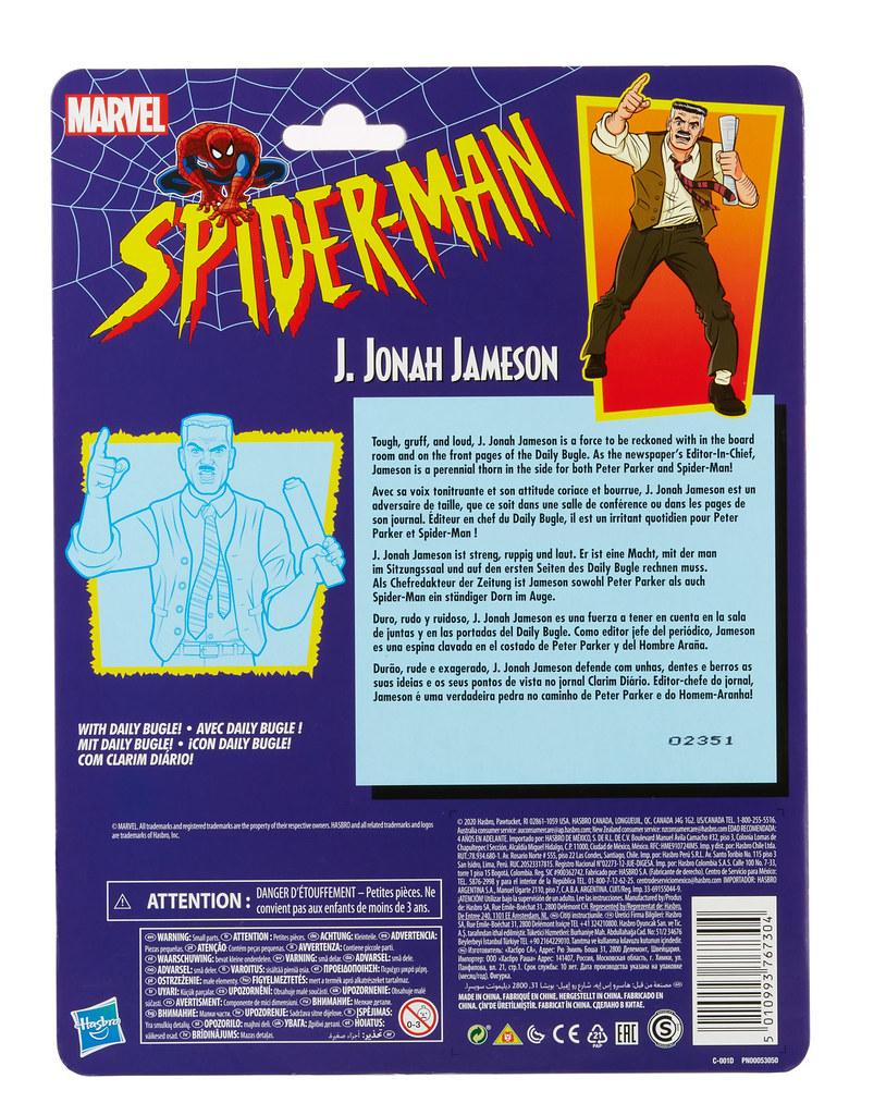 孩之寶 漫威傳奇系列【J·喬納·詹姆森】6吋可動人偶!是那個最討厭蜘蛛人的男人