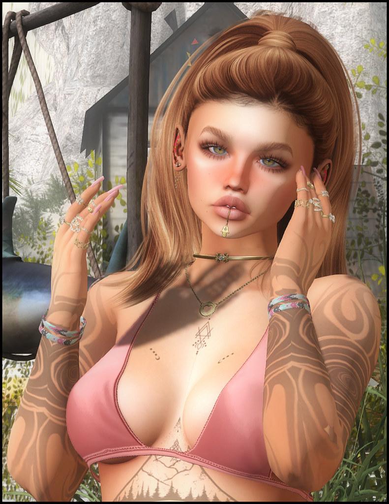 ~~ Ysoral ~~ .: Luxe Set Bracelet Natasha :.  & (RINGS BENTO)~~ Ysoral ~~ .:Luxe Set Rings Kim:.