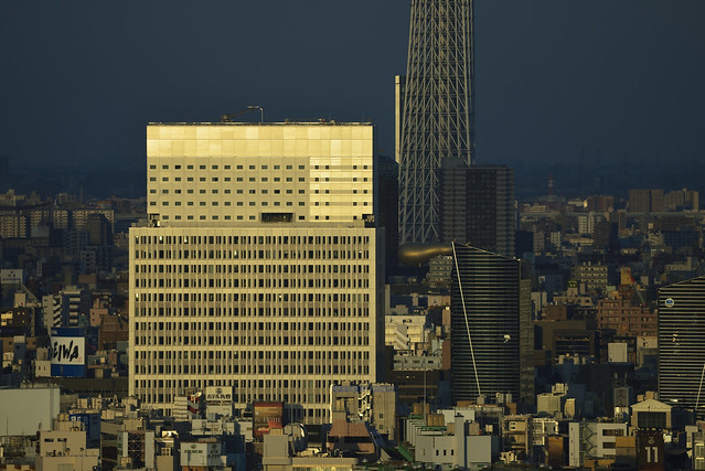 Building Wall and Skytree