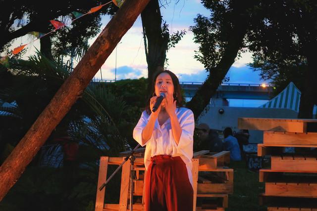 Jazz Vocalist 薛詒丹 Dan Hsueh at  GQ 城市野營 Urban Camping Festival in Taipei