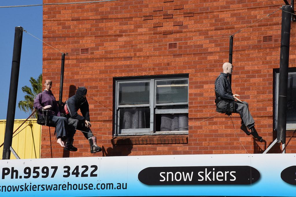 Snow Skiers, Rockdale, NSW.