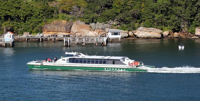 MV Marjorie Jackson of Sydney Ferries, RiverCat Class