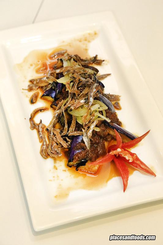 sarawak food the loaf sambal terung