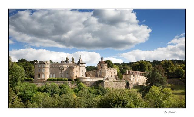 Un château dans le Morvan