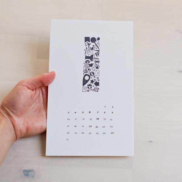 Minimalist Calendar 2021