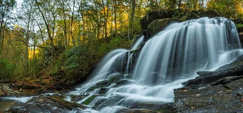 water waterfall northgeorgia georgia ga november autumn