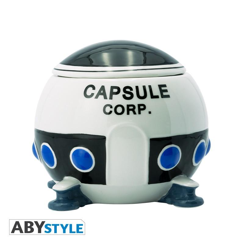 喝完就可以對抗弗利沙了嗎?ABYstyle《七龍珠Z》膠囊公司太空船造型馬克杯