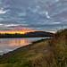 Kahle Lake Sunset 2020_10_30